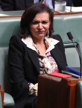 """""""I'll take his word over Pauline Hanson any time"""": Anne Aly backs ASIO boss Duncan Lewis."""
