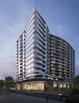 An artist's impression of the Galleria apartment project at 52-54 O'Sullivan Road Glen Waverley.