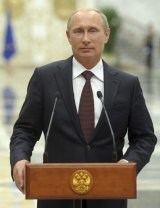 Leaders apart: Vladimir Putin may face a ban.
