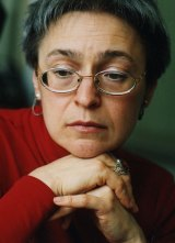 Slain Russian investigative journalist Anna Politkovskaya