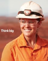 """Elliott has pushed for BHP to """"think big"""" in revamping its operations, taking a line from the miner's new advertising campaign."""