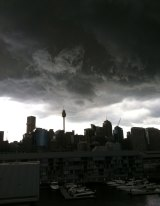 Sydney is expected to cop heavy rain and hail.
