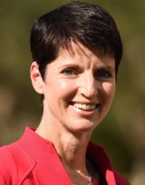 Local MP Kate Washington says Tea Gardens residents embrace their age.
