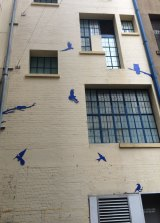 The Blu Art Xinja has spent a lot of time in Brisbane's Burnett Lane.
