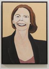 Vincent Namatjira, <i>Julia Gillard</i>, Tarrawarra Biennial 2016.