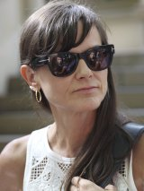 Lawyer Sophie Toomey outside Central Local Court in Sydney last month.