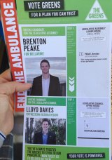 The Greens are running open tickets in several marginal seats.