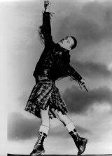 Ballet-trained Clark in 1987.