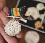 One of the stolen medals.