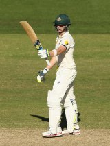 Steve Smith will captain Australia for the rest of the series against India.