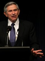 Paul Wolfowitz, a former US secretary of defence and president of the World Bank.