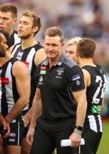 Nathan Buckley: 'The contest was off, we just didn't work hard in defence.'