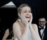 Larson winning Best Actress at last year's Screen Actors Guild awards.