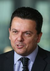 "Senator Nick Xenophon says he can't in ""good conscience"" support the government's universities proposal."