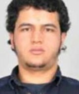 The photo sent to European police authorities during the mahunt for Anis Amri .