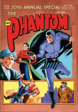 The upcoming Frew Publication Phantom annual to celebrate the 80th birthday.