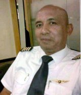 Pilot Zaharie Ahmad Shah was cleared by the report.