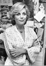 Back then: Ita Buttrose in her office.