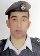 Muath al-Kasasbeh, who was captured by Islamic State.