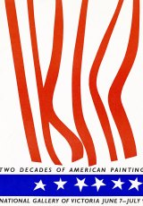 Two Decades of American Painting poster, 1967.