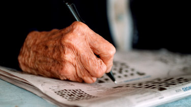 Brain exercises can help the elderly stay sharp.
