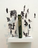 <I>Dis Located</I> by Nicci Haynes in The Peculiar Library at ANCA Gallery.