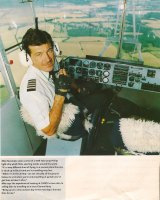 """""""He loved what he did"""": Airship pilot Mike Nerandzic."""