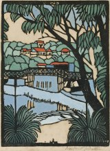 Margaret Preston - Mosman Bridge