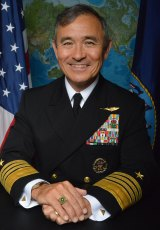 Admiral Harry Harris is known for his forthright language on China.