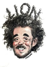 """""""We could be a dark horse"""" at the Oscars: Garth Davis. Illustration by John Shakespeare"""