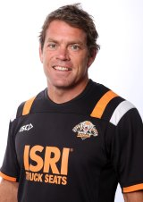 Gone: Coaching staff member Brett Kimmorley has joined the exodus from the Wests Tigers.