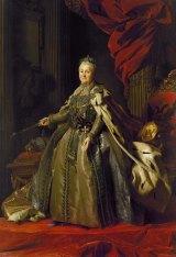Alexander Roslin's  portrait of Catherine the Great.
