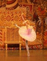 Irina Kolesnikova performing with the St Petersburg Ballet Theatre as Clara in <i>The Nutcracker</i>.
