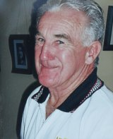 Carmel Pickup's father, Noel, before his pancreatic cancer diagnosis and death in 2009.