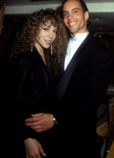 Mariah with brother Morgan.