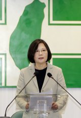 Taiwan's opposition Democratic Progressive Party candidate Tsai Ing-wen is leading in the polls ahead of the January 2016 elections.