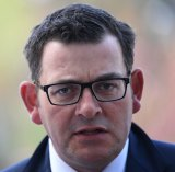 "Victorian Premier Daniel Andrews has refused to get ""tied up in some of those arguments"" about the rights and wrongs of ""curtailing the rights and freedoms of a small number of people""."