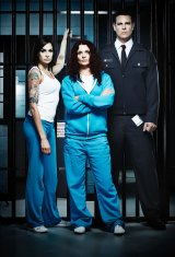 Danielle Cormack (centre) has just negotiated her contract for series four of Wentworth.