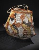 Jawun (bicornual basket) (2012) by Abe Muriata. Girramay people, Cardwell.