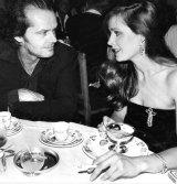 Lyndall Hobbs with Jack Nicholson