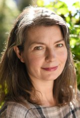 Author Kirsten Tranter is embracing her age and her grey hairs.