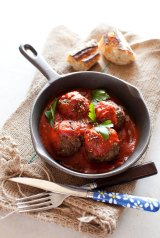 A spicy meatball? The health implications of lab-grown meat are still unclear.