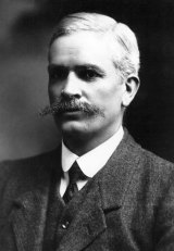 Andrew Fisher served three separate terms as prime minister, the last ending abruptly in October 1915.