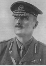 Britain's commander-in-chief, General Sir Edmund Allenby