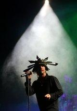 Singer Jay Kay of Jamiroquai.