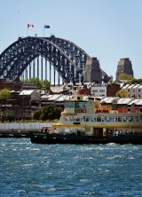 Climb the south pylon of the Harbour Bridge for an affordable view of the harbour.