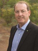 Former Eden-Monaro MP Peter Hendy.