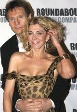 Neeson with Richardson.