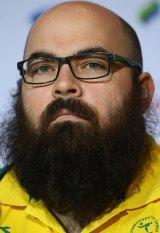 Australian weightlifter Damon Kelly.