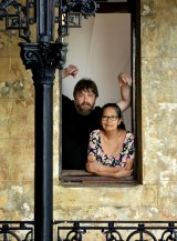 'We all know each other's stories': Milk Crate Theatre actors Chris Barwick and Fabiola Meza.